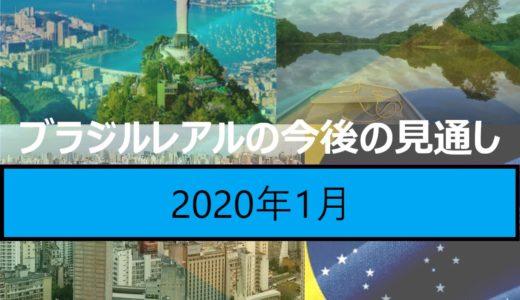 【2020年1月時点】ブラジルレアルの現状と見通し