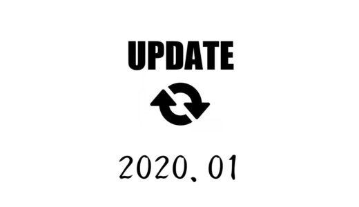 2020年1月の主な出来事