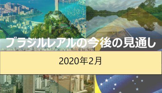 【2020年2月時点】ブラジルレアルの現状と見通し